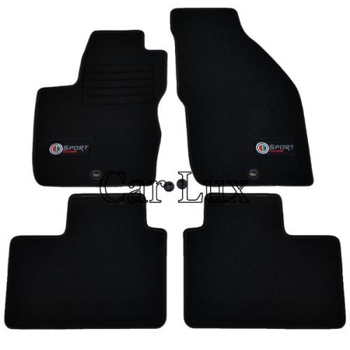Alfombras tapices para Alfa Romeo 156 97-06 coche delante esteras alfombras coche negro