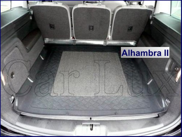 Alfombra Bandeja Protector maletero CITROEN Berlingo II 5plazas desde 2008