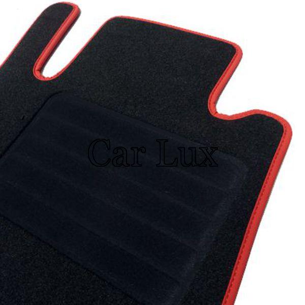 HIGH LINE Velour Esterillas alfombras a medida MINI ONE R50 y R53 desde 2001